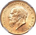 German States:Bavaria, German States: Bavaria. Ludwig III gold 20 Mark 1914-D MS63 NGC,...