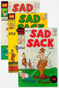 Silver Age (1956-1969):Humor, Sad Sack Comics Armed Forces Complimentary Editions - File Copies Box Lot (Harvey, 1957-61) Condition: Average NM-....