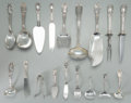 Silver Flatware, American:Gorham, A One Hundred Eighty-Three Piece Gorham Florentine FlorenzPattern Silver Flatware Service, Providence, Rhode Is... (Total:183 Items)