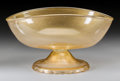 Art Glass:Other , A Murano Glass Punch Bowl, 20th century. 7-1/2 h x 10-1/2 w x13-7/8 d inches (19.1 x 26.7 x 35.2 cm). ...