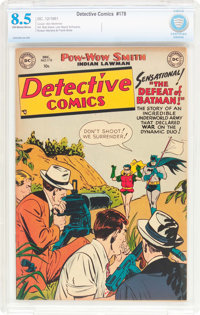 Detective Comics #178 (DC, 1951) CBCS VF+ 8.5 Off-white to white pages