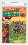 Golden Age (1938-1955):Superhero, Detective Comics #206 (DC, 1954) CBCS VF+ 8.5 Off-white to white pages....