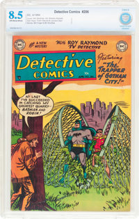 Detective Comics #206 (DC, 1954) CBCS VF+ 8.5 Off-white to white pages