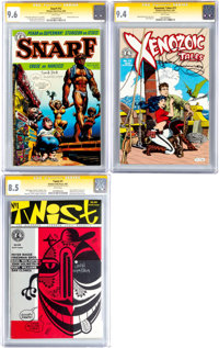 Kitchen Sink Comics Signature Series Group of 3 (Kitchen Sink, 1987-91) CGC.... (Total: 3 Comic Books)