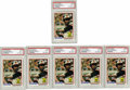 Baseball Cards:Singles (1970-Now), 1978 Topps Eddie Murray #36 PSA NM 7 Lot of 6. Six PSA-graded rookies from the HOF slugger. Wonderful chance for dealers o... (Total: 6 Items)