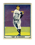 Baseball Cards:Singles (1940-1949), 1941 Play Ball Joe DiMaggio #71 SGC Good 30. Exceptional eye appealwould rate this card much higher if not for horizontal ...