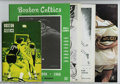 Basketball Collectibles:Publications, 1944-68 Boston Celtics Publications (5) Offered in this ... (5 items)