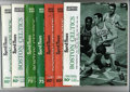Basketball Collectibles:Programs, 1967-72 Boston Celtics Programs (7) Offered in this lot ... (7items)