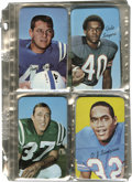 Football Cards:Sets, 1970 Topps Super Football Complete Set. Complete 35-card set of these oversized cards features the likes of Bart Starr, O.J...