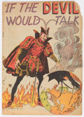 Golden Age (1938-1955):Religious, If the Devil Would Talk nn (Impact, 1950) Condition: GD....