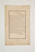 Political:Memorial (1800-present), Abraham Lincoln Assassination: Early Navy Department Announcement....