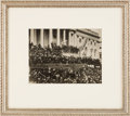Photography:Official Photos, Abraham Lincoln: 1865 Inauguration Photograph....