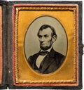 Photography:Tintypes, Abraham Lincoln: Ninth Plate Tintype....
