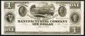 Obsoletes By State:Ohio, Akron, OH- Portage Canal and Manufacturing Company $1 Wolka 0023-01Proof. ...