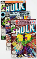 Modern Age (1980-Present):Superhero, The Incredible Hulk #266-270 Box Lot (Marvel, 1981-82) Condition:Average VF....