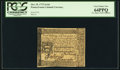 Colonial Notes:Pennsylvania, Pennsylvania October 25, 1775 2s 6d PCGS Very Choice New 64PPQ.....