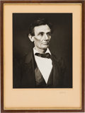 Photography:Studio Portraits, Abraham Lincoln: King Hostick Reprint Photograph....