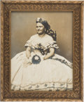 Photography:Studio Portraits, Mary Todd Lincoln: Large Silver Print....