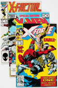 Modern Age (1980-Present):Superhero, X-Men Related Box Lot (Marvel, 1980s-90s) Condition: AverageVF/NM.... (Total: 2 Box Lots)