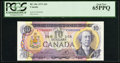 Canadian Currency: , BC-49c $10 1971 with Serial Number 2. ...