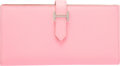 """Luxury Accessories:Bags, Hermes Rose Confetti Epsom Leather Bearn Wallet with PalladiumHardware. T, 2015. Pristine Condition. 7"""" Width x 3.5""""Heig..."""