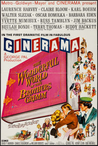 "The Wonderful World of the Brothers Grimm (MGM, 1962). Mini Poster (16.5"" X 24.75"") Cinerama Style. Fantasy..."
