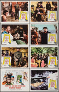 """Movie Posters:War, The Guns of Navarone (Columbia, 1961). Lobby Card Set of 8 (11"""" X 14""""). War.. ... (Total: 8 Items)"""