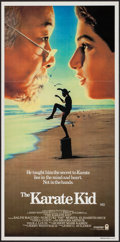 "Movie Posters:Sports, The Karate Kid (Columbia, 1984). Australian Post-War Daybill (13"" X 26.75""). Sports.. ..."