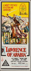 "Movie Posters:Academy Award Winners, Lawrence of Arabia (Columbia, 1962). Australian Post-War Daybill (13"" X 30""). Academy Award Style. War.. ..."