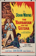 "Movie Posters:Drama, The Barbarian and the Geisha (20th Century Fox, 1958). One Sheets (2) Identical (27"" X 41""). Drama.. ... (Total: 2 Items)"