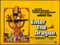 """Movie Posters:Action, Enter the Dragon (Warner Brothers, 1973). British Quad (30"""" X 40"""").Action.. ..."""