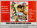 "Movie Posters:Crime, They Came to Rob Las Vegas & Other Lot (Warner-Pathe, 1969).British Quads (2) (30"" X 40""). Crime.. ... (Total: 2 Items)"