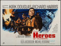 "Movie Posters:War, The Heroes of Telemark (Rank, 1965). British Quad (30"" X 40"").War.. ..."