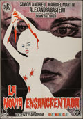 """Movie Posters:Horror, The Blood Spattered Bride (DIASA, 1972). Spanish One Sheet (27.5"""" X 39.5""""). Horror.. ..."""