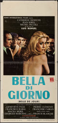 "Movie Posters:Foreign, Belle de Jour (Euro International Films, 1967). Italian Locandina(13"" X 27.5""). Foreign.. ..."