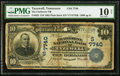 National Bank Notes:Tennessee, Tazewell, TN - $10 1902 Plain Back Fr. 624 The Claiborne NB Ch. #(S)7740. ...