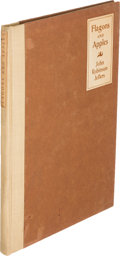 Books:Literature 1900-up, John Robinson Jeffers. Flagons and Apples. Los Angeles:1912. First edition, inscribed....