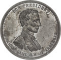 Political:Tokens & Medals, Abraham Lincoln: Large 1860 Campaign Medal....