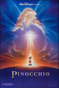 """Movie Posters:Animation, Pinocchio (Buena Vista, R-1992). One Sheets (2) (27"""" X 40"""") DS Advance & Regular. Animation.. ... (Total: 2 Item)"""