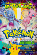 """Movie Posters:Animation, Pokemon: The First Movie (Warner Brothers, 1999). One Sheets (2)(27"""" X 40"""") DS Advance Styles A & B. Animation.. ... (Total: 2Items)"""