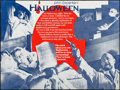 "Movie Posters:Horror, Halloween (Miracle Films, 1978). British Quad (30"" X 40"") MarlerHaley Style. Horror.. ..."