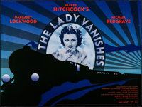 "The Lady Vanishes (Park Circus, R-2008). British Quad (30"" X 40"") DS Art Deco Style. Hitchcock"