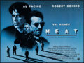 "Movie Posters:Crime, Heat (Warner Brothers, 1995). British Quad (30"" X 40"") SS. Crime....."
