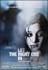 "Let the Right One In (Magnet Releasing, 2008). One Sheet (27"" X 39.75"") DS. Foreign"