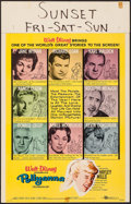 """Movie Posters:Comedy, Pollyanna & Others Lot (Buena Vista, 1960). Window Cards (3)(14"""" X 22""""). Comedy.. ... (Total: 3 Items)"""