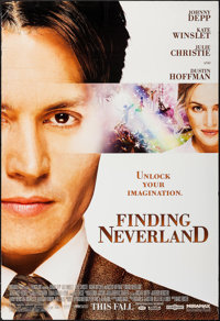 """Finding Neverland (Miramax, 2004). One Sheets (50) Identical (27"""" X 39.75"""") SS Advance. Drama. ... (Total: 50..."""