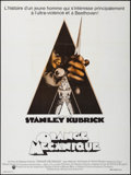 "Movie Posters:Science Fiction, A Clockwork Orange (Warner-Columbia, 1972). French Grande (47"" X 63""). Science Fiction.. ..."