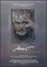"Drew: The Man Behind the Poster (Kino International , 2013). Autographed One Sheet (27"" X 38.5"") SS. Documenta..."