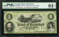Canadian Currency: , Brantford, CW- Bank of Brantford $4 Nov. 1, 1859 Ch. # 40-10-02-06....