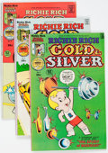 Bronze Age (1970-1979):Cartoon Character, Richie Rich Gold and Silver File Copies Box Lot (Harvey, 1975-82) Condition: Average NM-....